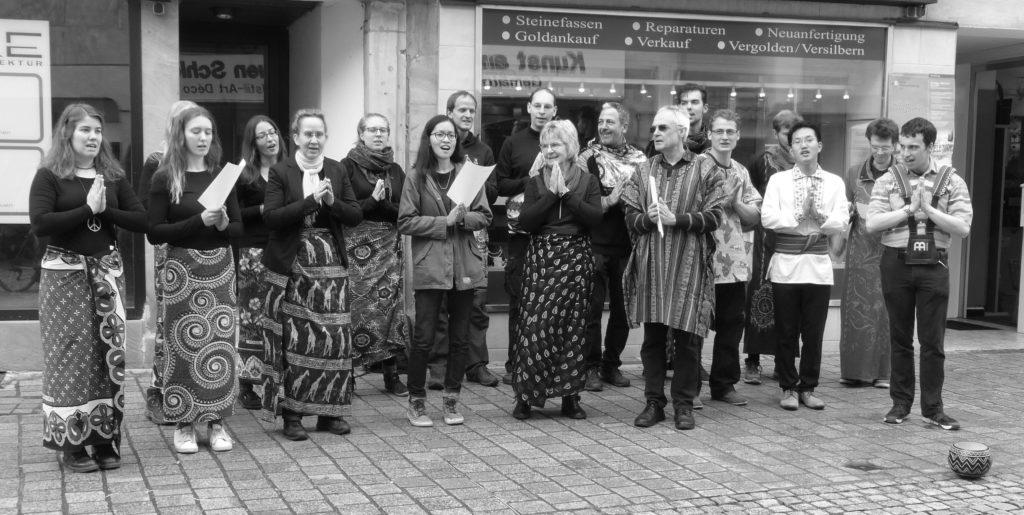 Singen am Weltladentag Bayreuth
